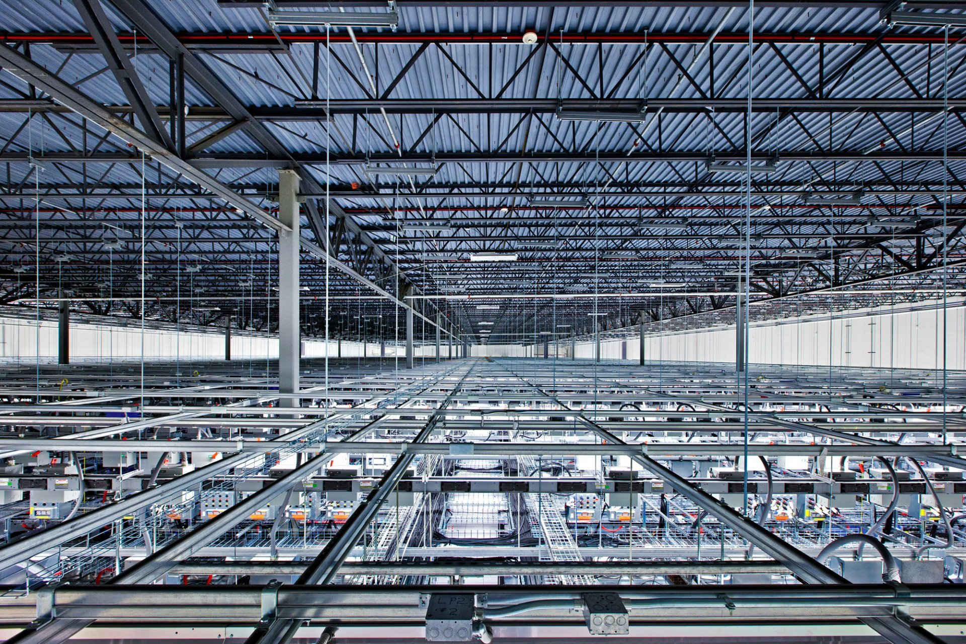 data center from above google